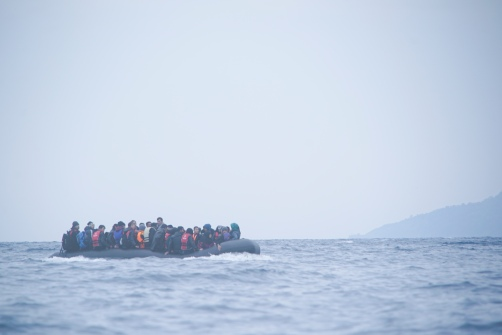Refugees_on_a_boat_crossing_the_Mediterranean_sea,_heading_from_Turkish_coast_to_the_northeastern_Greek_island_of_Lesbos,_29_January_2016
